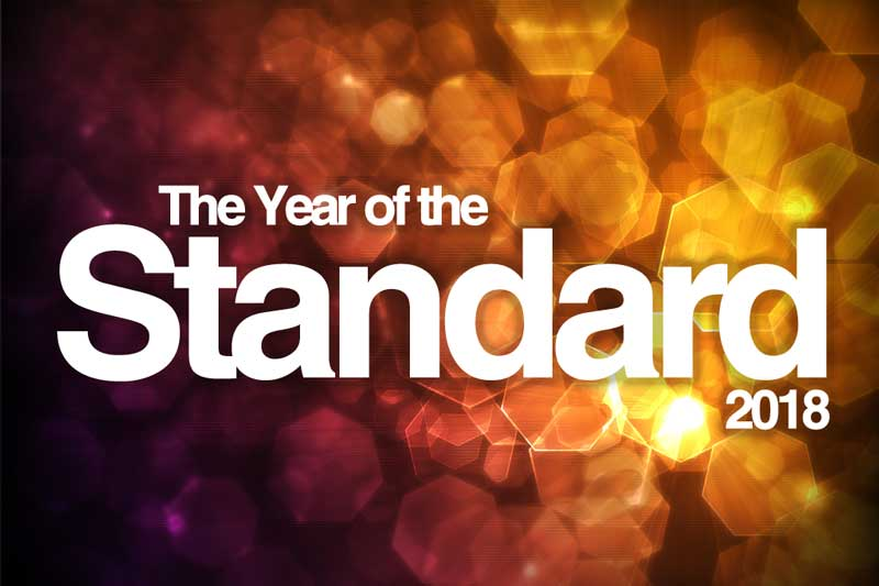 Year of the Standard 2018
